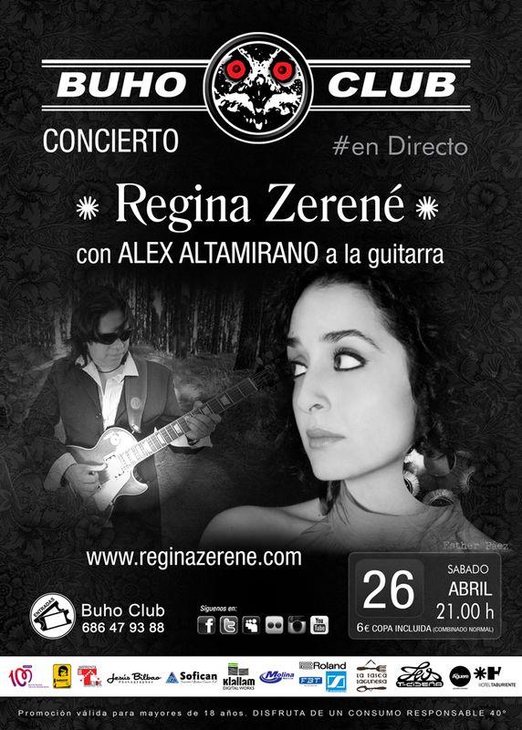 Concierto acústico el 26 de Abril en mi ciudad #lalaguna, en Elbúho.